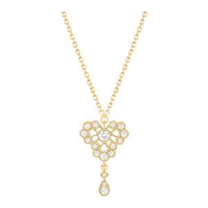 Collier Crush Diamants Or Jaune