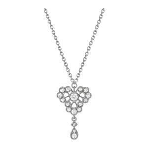 Collier Crush Diamants Or Noir