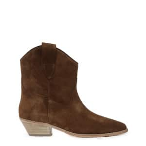 Bottines Sabine Veau Tabac