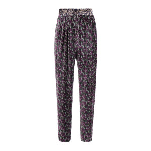 Pantalon Liberty Velours Imprimé Nuit