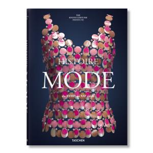 Livre Histoire de la Mode du XVIIIe au XXe siècle