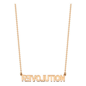 Collier Fairies Revolution Or Rose