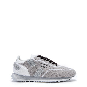 Baskets Running Rush Cuir Gris