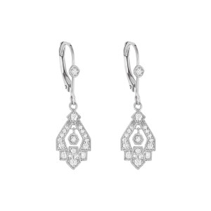 Boucles d'oreilles Dormeuses Gilda Or Diamants