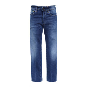 Pantalon Homme Lit Bleu Délavé