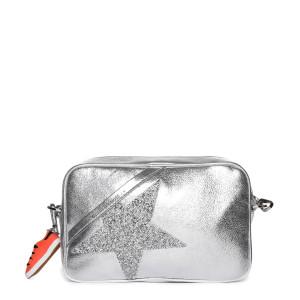Sac Star Cuir Lisse Étoile Gris Swarovski Crystal