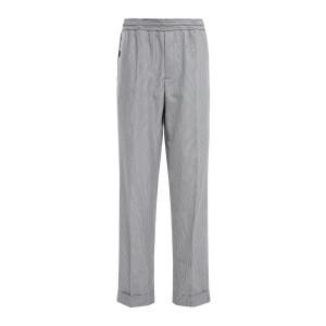 Pantalon Homme Luke Coton Navy Écru