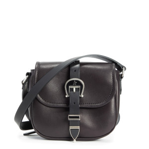 Sac Rodeo Small Cuir Lisse Noir