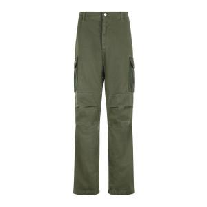 Pantalon Homme Afro Vert Army