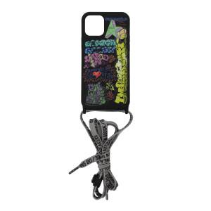 Coque Iphone Graffiti Noir
