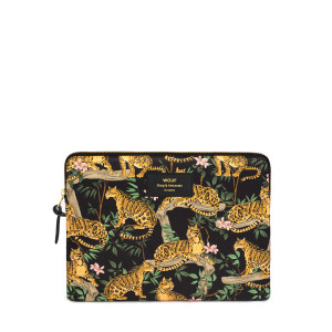 Housse Ipad Black Lazy Jungle