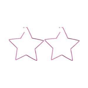 Boucles d'oreilles Star In Love Laiton Fushia