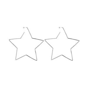 Boucles d'oreilles Star in Love Laiton Argenté