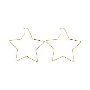 Boucles d'oreilles Star in Love Laiton Doré