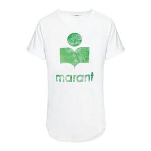 Tee-shirt Koldi Lin Blanc Vert