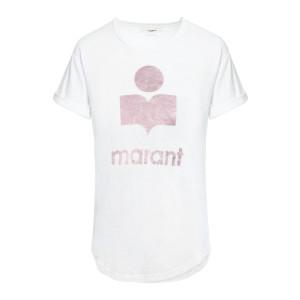Tee-shirt Koldi Lin Blanc Rose