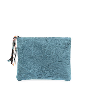 Pochette Ipad Éponge Denim