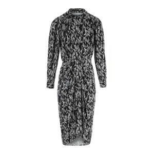 Robe Yakin Imprimé Noir