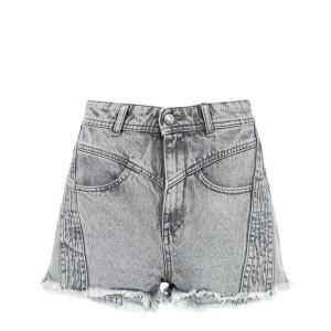 Short Lorez Coton Gris
