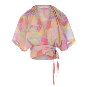 Top Berni Coton Multicolore