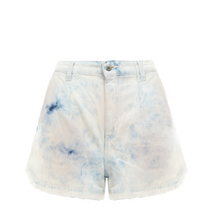 Short Popi Coton Bleu Rose