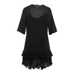 Robe Volants Noir