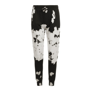 Jogging Fallon Coton Tie and Dye Noir Blanc