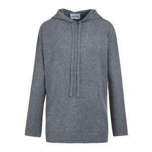 Sweatshirt Reena Oversize Cachemire Gris Flanelle