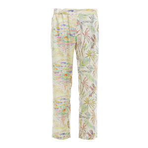 Pantalon Lucky Soie Sunset Acid Imprimé