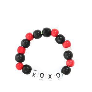 Bracelet Love Beads Bois XOXO