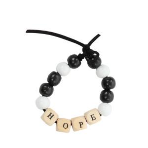 Bracelet Love Beads Bois HOPE