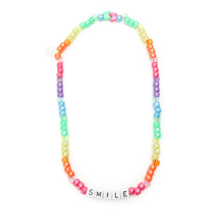 Collier Love Beads SMILE Multicolore