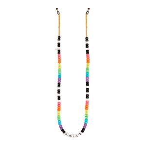 Chaîne de Lunettes Perles Love Beads SMILE Multicolore