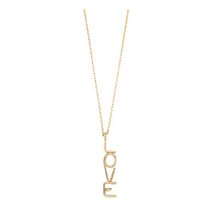 Collier Chaîne Love S Or 18K