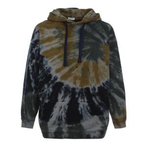 Sweatshirt Malibu Coton Bleu Safran