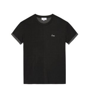 Tee-shirt Amore Coton Noir