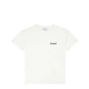 Tee-shirt Overdressed Coton Écru