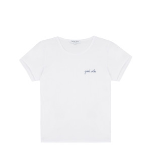 Tee-shirt Good Vibe Coton Biologique Blanc