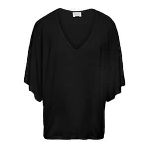 Tee-shirt Marie Bambou Noir