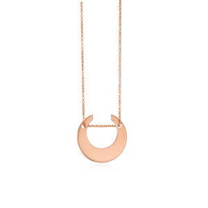 Collier Masai Mini Or Rose