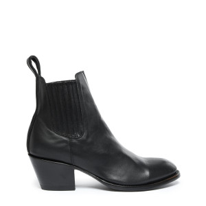 Bottines Estudio Ranchero Coco Cuir Noir