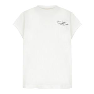Tee-shirt Oversize Coton Ivoire