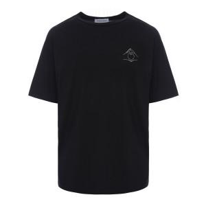 Tee-shirt Hand Love Coton Noir