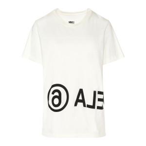 Tee-shirt Imprimé Margiela Beige