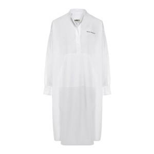 Robe Popeline Parachute Blanc