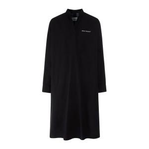 Robe Popeline Parachute Coton Noir