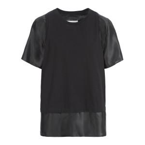 Tee-shirt Jersey Coton Noir