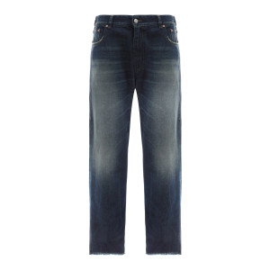 Pantalon Bleu Délavé