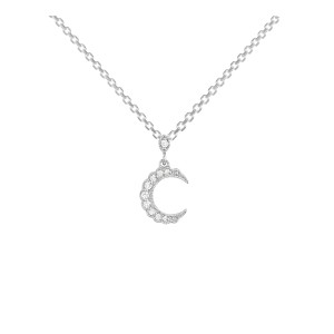 Collier Moonlight Or Diamants