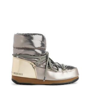 Moon Boot Basses St. Moritz Platinum